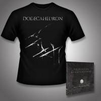 Dodecahedron - kwintessens + Dodecahedron - CD DIGIPAK + T Shirt bundle (Men)