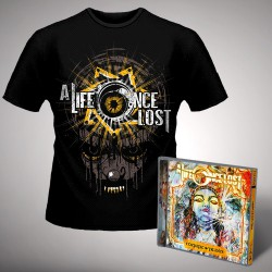 A Life Once Lost - All Seeing Eye - CD + T Shirt bundle