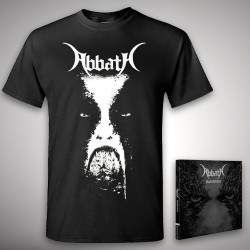 Abbath - Outstrider + Abbath - CD + T Shirt bundle (Men)