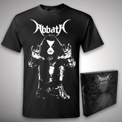 Abbath - Outstrider + Blasphemia - CD BOX + T Shirt (Men)