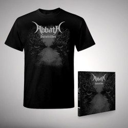 Abbath - Outstrider - CD + T Shirt bundle (Men)
