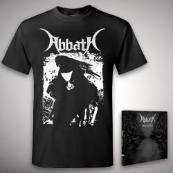 Abbath - Outstrider + Raven - CD + T Shirt bundle (Men)