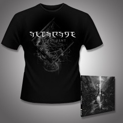 Altarage - Endinghent + Blankness Entities - CD DIGIPAK + T Shirt bundle (Men)