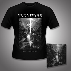 Altarage - Endinghent - CD DIGIPAK + T Shirt bundle (Men)