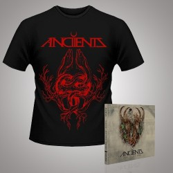 Anciients - Voice of the Void + Eel - CD DIGIPAK + T Shirt bundle (Men)