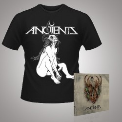 Anciients - Voice of the Void + Witch - CD DIGIPAK + T Shirt bundle (Men)