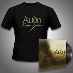 Audn - Farvegir Fyrndar + Logo - LP Gatefold + T Shirt Bundle (Men)