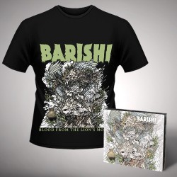 Barishi - Blood from the Lion's Mouth - CD DIGIPAK + T Shirt bundle (Men)