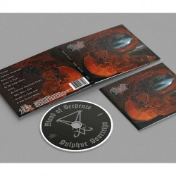 Blood of Serpents - Sulphur Sovereign - CD DIGIPAK