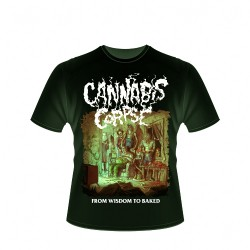 Cannabis Corpse - From Wisdom to Baked (Green) - T shirt (Men)