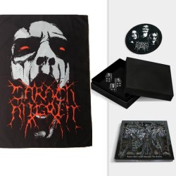 Carach Angren - Dance and Laugh Amongst the Rotten + Face - Digibox + Flag Bundle