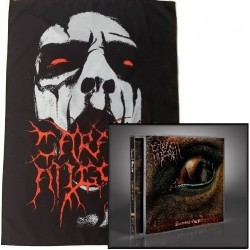 Carach Angren - Lammendam + Face bundle - CD + Flag Bundle