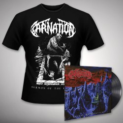 Carnation - Chapel of Abhorrence + Sermon of the Dead - LP Gatefold + T Shirt Bundle (Men)