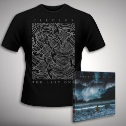 Circles - The Last One - CD DIGIPAK + T Shirt bundle (Men)