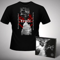 Craft - White Noise And Black Metal + Soundtrack to the End of the World - CD DIGIPAK + T Shirt bundle (Men)