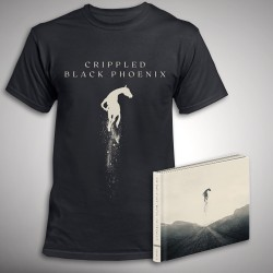 Crippled Black Phoenix - Great Escape - CD DIGIBOOK + T Shirt Bundle (Men)