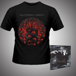 Deathspell Omega - The Synarchy of Molten Bones + Paracletus Snake - CD DIGIPAK + T Shirt bundle