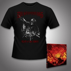 Destroyer 666 - Call of the Wild - CD DIGIPAK + T Shirt bundle (Men)