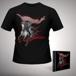 Destroyer 666 - Wildfire - CD + T Shirt bundle