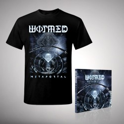 Wormed - Metaportal - CD + T Shirt bundle (Men)