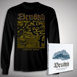 Drudkh - A Few Lines In Archaic Ukrainian Bundle - CD DIGIPAK + LONG SLEEVE bundle (Men)