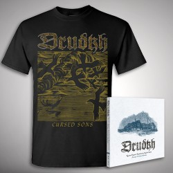 Drudkh - A Few Lines In Archaic Ukrainian Bundle - CD + T Shirt bundle (Men)