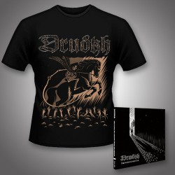 Drudkh - They Often See Dreams About the Spring + Horseman - CD DIGIPAK + T Shirt bundle (Men)