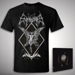 Enthroned - Cold Black Suns Son of Man Bundle - CD + T Shirt bundle (Men)