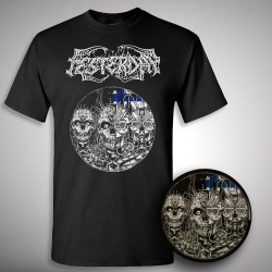 "Festerday - Cadaveris Virginity 7"" pic disc + T-shirt - 7"" EP collector + T-shirt (Men)"