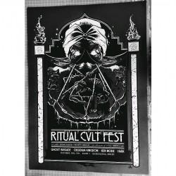 Ghost Brigade - Ritual Cvlt Fest (grey) - Screenprint