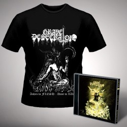 Grave Desecrator - Dust to Lust - CD + T Shirt bundle (Men)