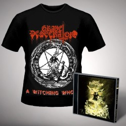 Grave Desecrator - Dust to Lust + A Witching Whore - CD + T Shirt bundle