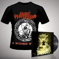 Grave Desecrator - Dust to Lust + A Witching Whore - DOUBLE LP GATEFOLD + T Shirt Bundle