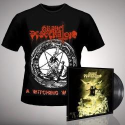 Grave Desecrator - Dust to Lust + A Witching Whore - DOUBLE LP GATEFOLD + T Shirt Bundle