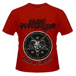 Grave Desecrator - Praise the Darkness - T shirt (Men)