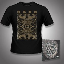 Hark - Machinations + Dimension - CD DIGIPAK + T Shirt bundle (Men)