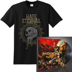 Hate Eternal - Infernus + Sword & Skull - LP Gatefold + T Shirt Bundle (Men)