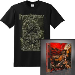 Hate Eternal - Infernus + The Reaper - CD + T Shirt bundle