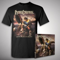 Hate Eternal - Upon Desolate Sands - CD + T Shirt bundle (Men)