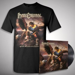 Hate Eternal - Upon Desolate Sands - LP Gatefold + T Shirt Bundle (Men)