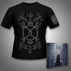 Heilung - Lifa - Heilung Live at Castlefest + Galdr - CD DIGIPAK + T Shirt bundle (Men)