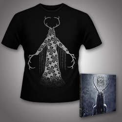 Heilung - Lifa - Heilung Live at Castlefest + Maria Shaman - CD DIGIPAK + T Shirt bundle (Men)