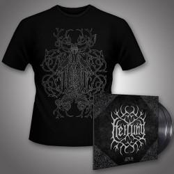 Heilung - Ofnir + Audugan - DOUBLE LP GATEFOLD + T Shirt Bundle (Men)