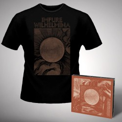 Impure Wilhelmina - Radiation - CD DIGIPAK + T Shirt bundle