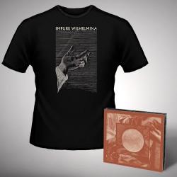 Impure Wilhelmina - Radiation + Hand - CD DIGIPAK + T Shirt bundle