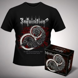 Inquisition - Bloodshed Across the Empyrean Altar Beyond the Celestial Zenith + Zenith - Digibox + T Shirt bundle