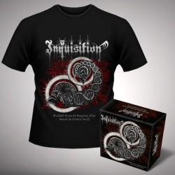 Inquisition - Bloodshed Across the Empyrean Altar Beyond the Celestial Zenith + Zenith - Digibox + T Shirt bundle (Men)