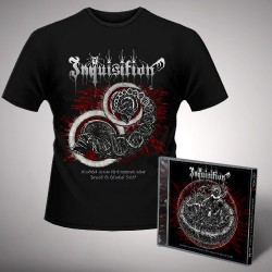 Inquisition - Bloodshed Across the Empyrean Altar Beyond the Celestial Zenith + Zenith - CD + T Shirt bundle (Men)