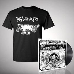 Insanity Alert - 666-Pack + Alf Wasted - LP + T shirt Bundle (Men)