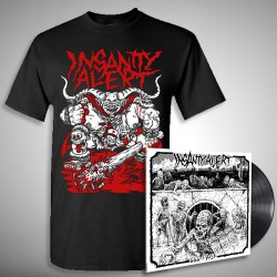 Insanity Alert - 666-Pack + Lord - LP + T shirt Bundle (Men)